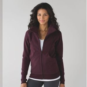 Cozy Cuddle Cup lululemon jacket in Bordeaux Drama